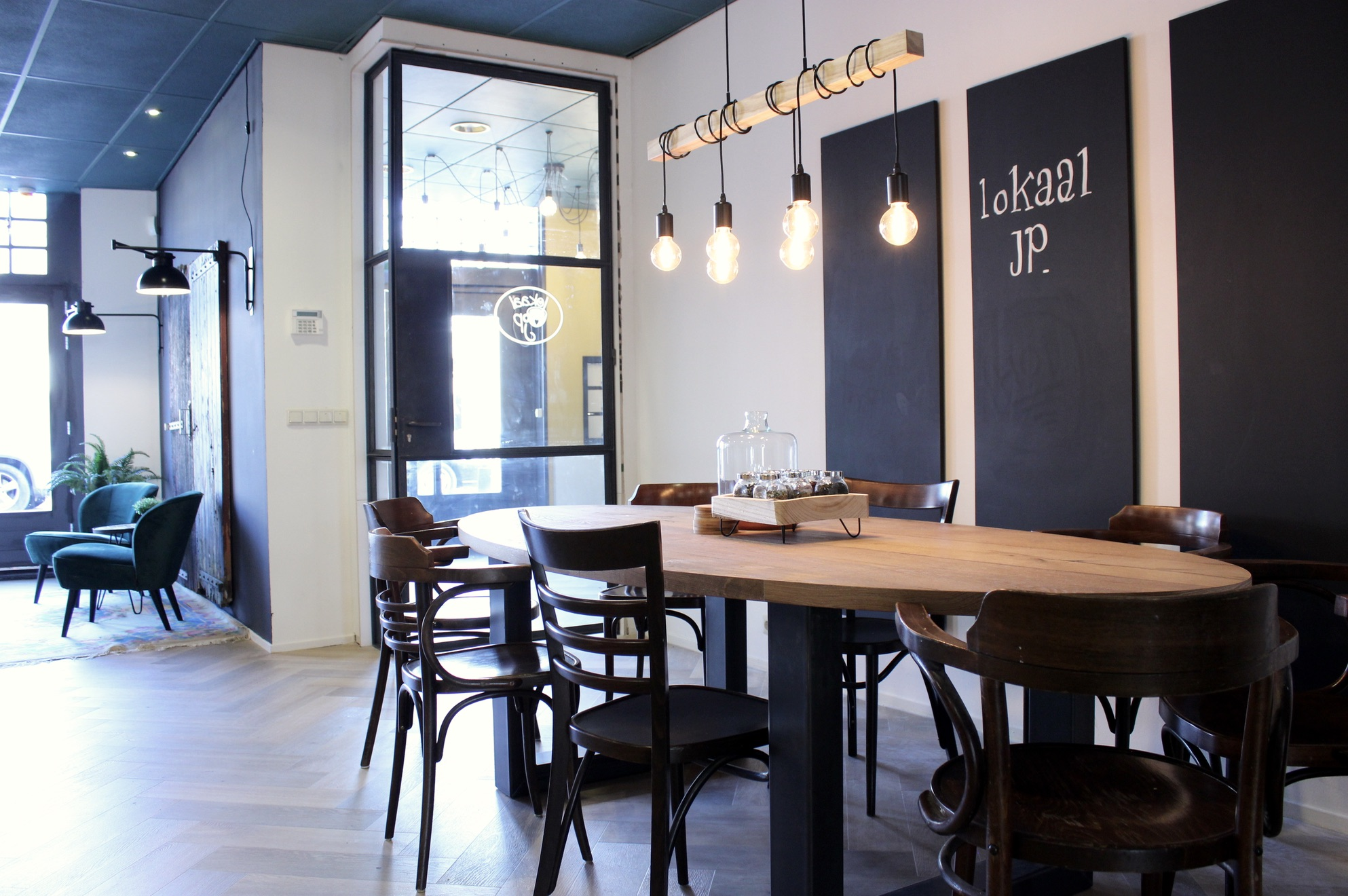 Totaalconcept lunchroom LOKAAL JP - Sneek